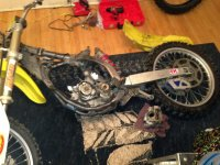 RM125 - 2003 suzuki rm 125 full rebuild, | Dirt Bike Addicts
