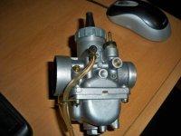 Suzuki SP250 After Market Carburetor | Dirt Bike Addicts